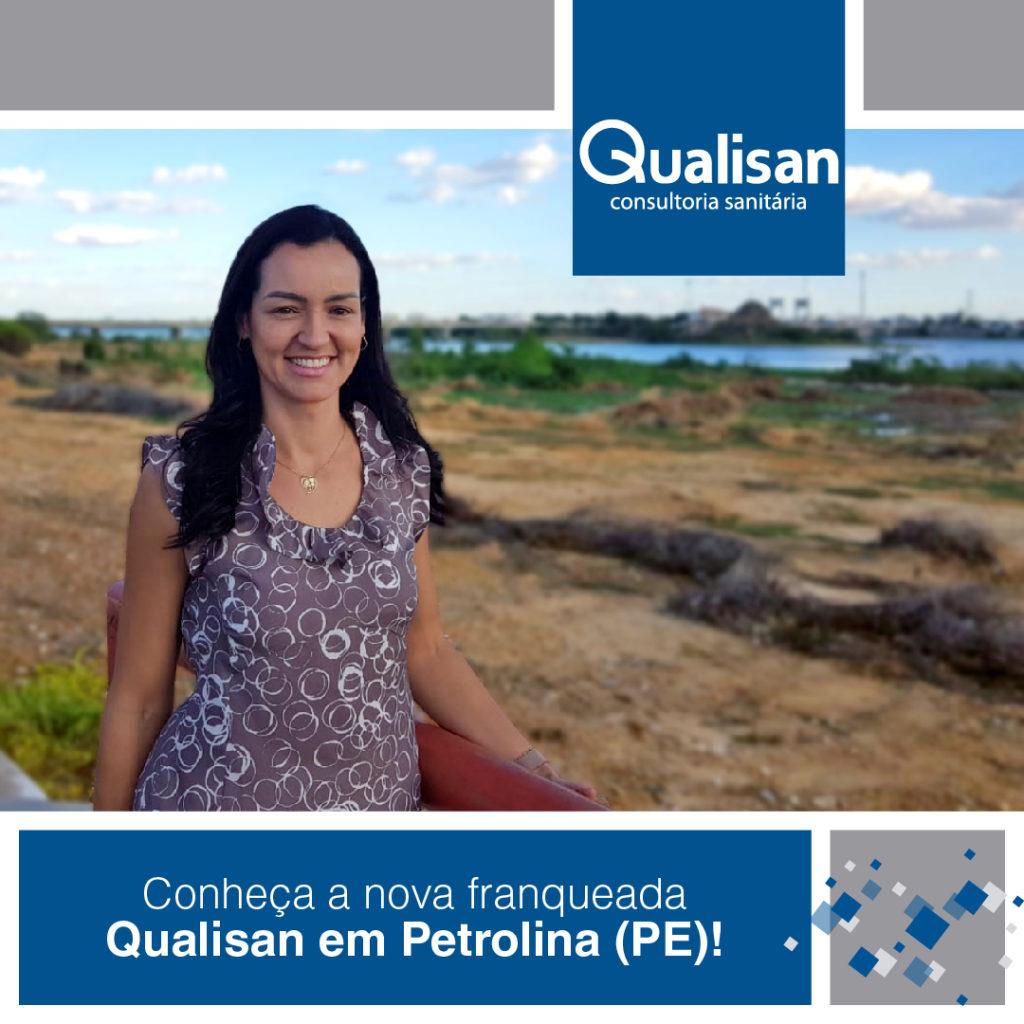 Petrolina agora tem franqueada Qualisan