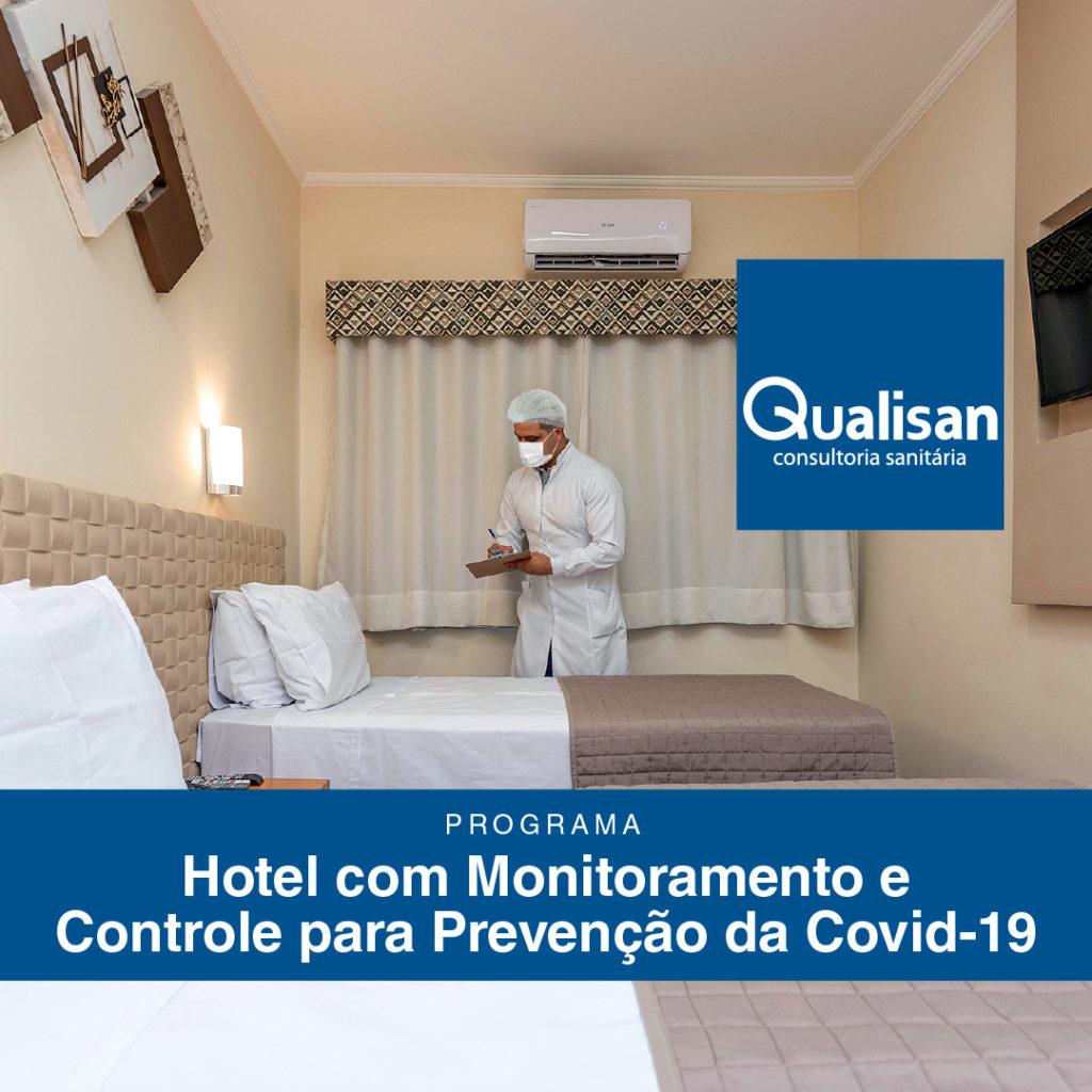 Hotel também deve seguir protocolos sanitários