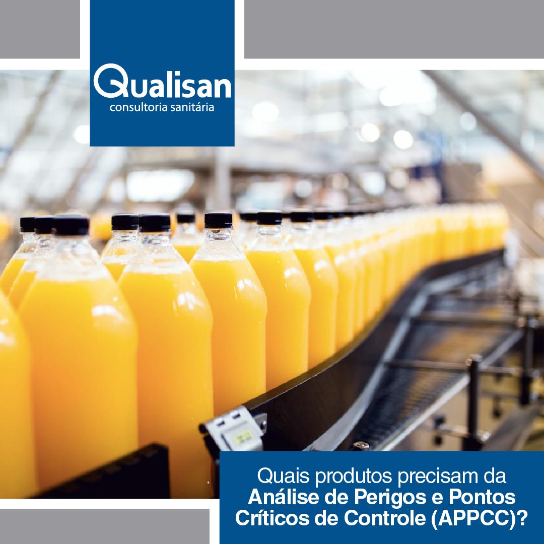 APPCC é exigência para indústria de alimentos