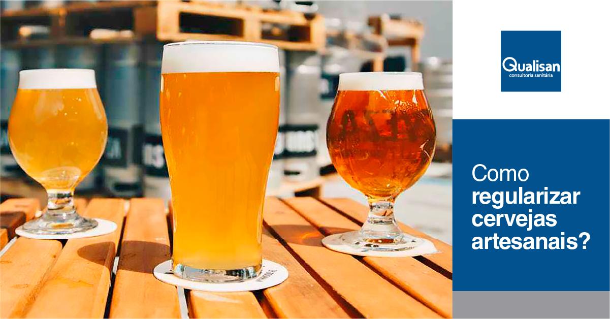 Cervejas produzidas artesanalmente adequadas à legislação